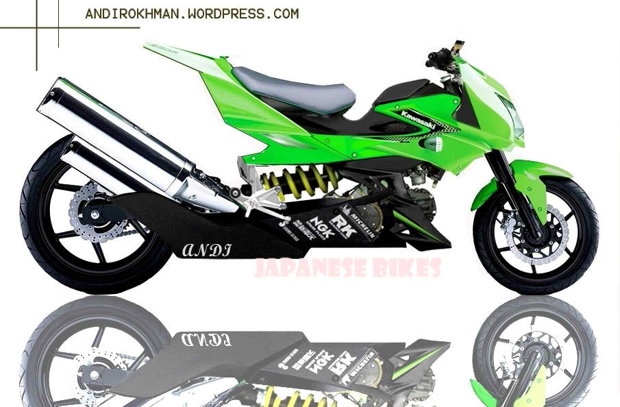 Photo Kawasaki Athlete Modifikasi