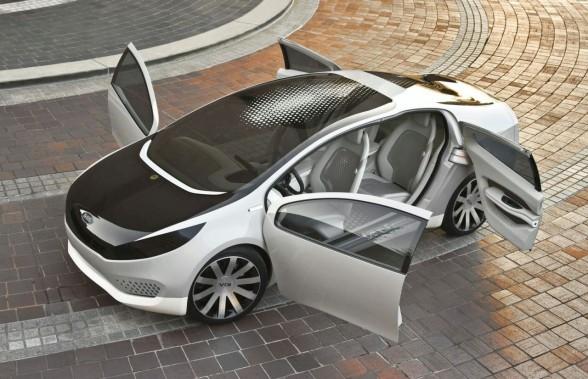 2010 Kia Ray Plug-in Hybrid Concept motor sport