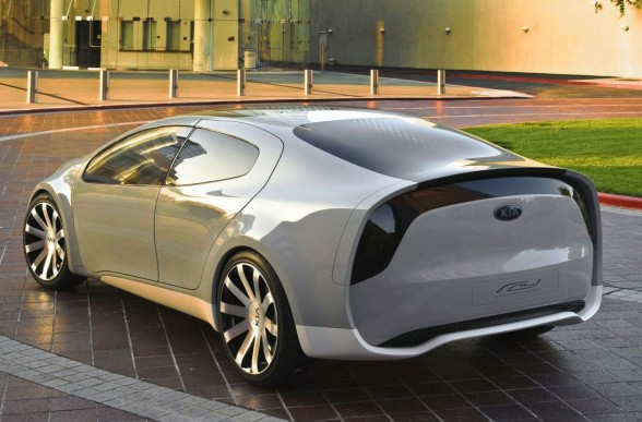 luxury car 2010 Kia Ray Plug-in Hybrid Concept