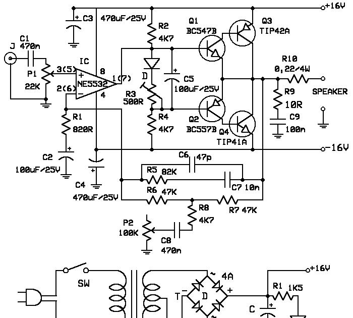 rangkaian ampifier