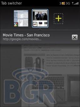 BlackBerry OS 6.0 wallpaper