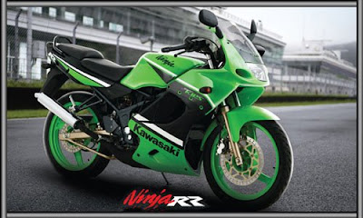 Kawasaki NInja RR Green Specification
