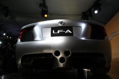 Lexus LF-A Concept wallpaper