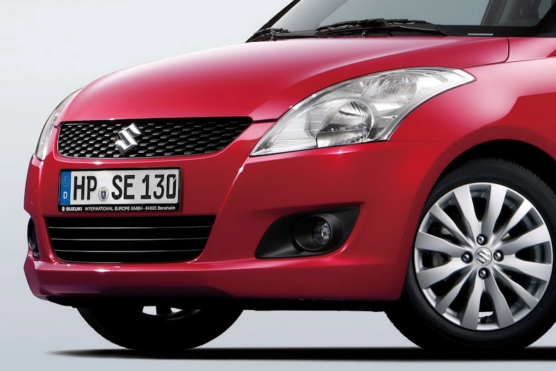 New Suzuki Swift Breaks Cover