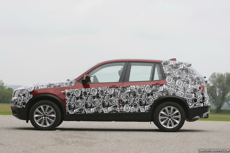 YouTube - 2011 BMW X3 spied