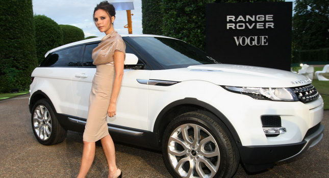 Range Rovers New Creative Design  Victoria Beckham create