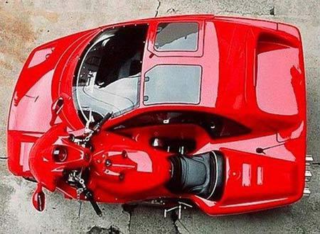 Becak Motor Ferrari  Keren