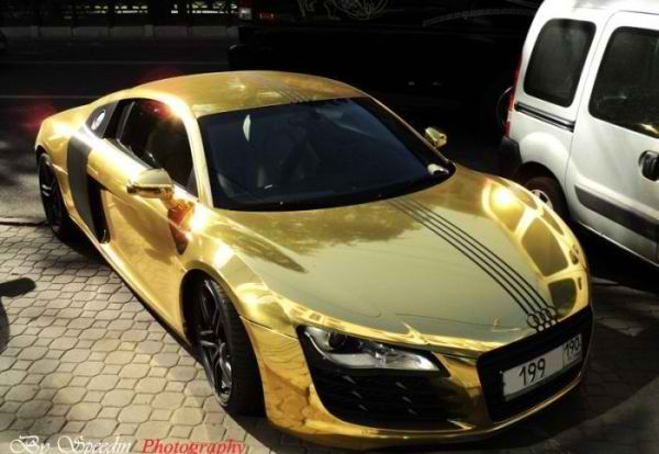 Gold Bmw M5 And X5 Moscow Car And Style