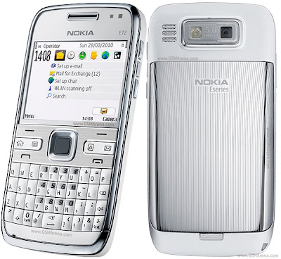 Price of Nokia E72 - Full phone Review spec