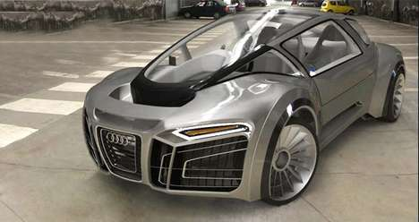 The Audi Hydron  Amphibious Super Cars new