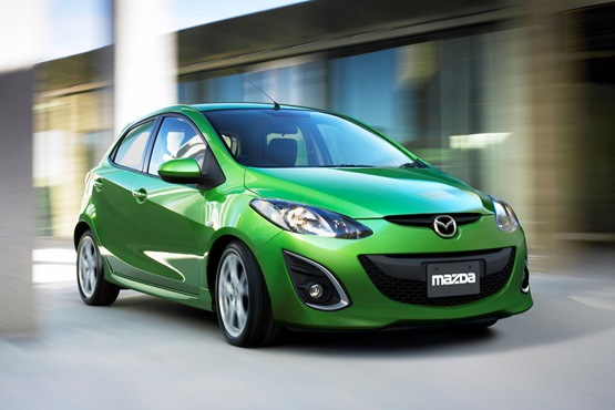 New 2011 New Mazda2 Facelift