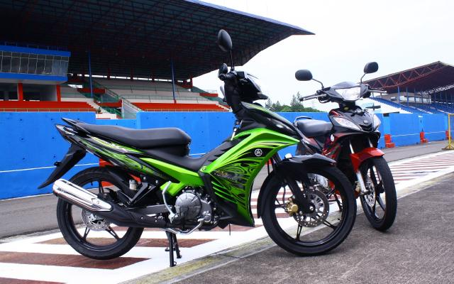 Posted in: JUPITER , Modifikasi Yamaha Alba | | |