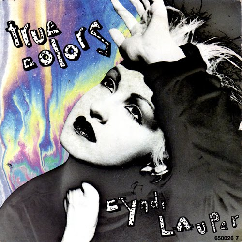 Cyndi Lauper True Colors Single True Colors 1986 Cyndi