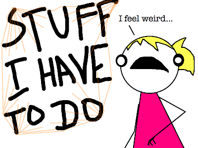 I can't write a paper. I procrastinate and freak out instead.?