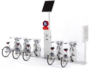 B-Cycle the GPS enabled bike sharing system