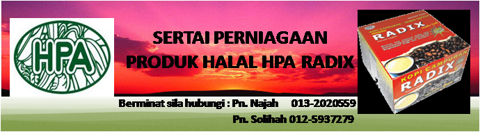 HPA - Produk Halal Tanggungjawab Bersama