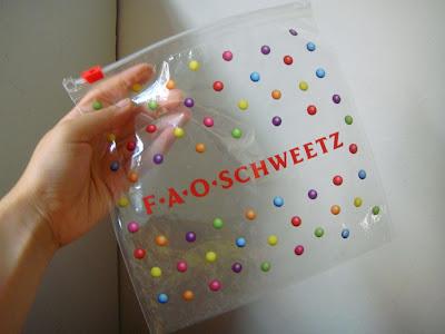 FAO Schwartz candy @ Emy Augustus
