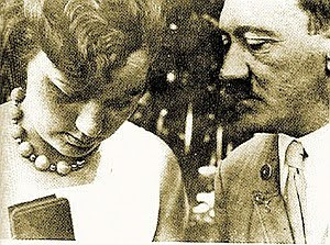 Hitler with niece
