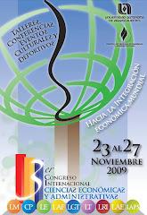 CONGRESO INTERNACIONAL CIENCIAS ECONOMICAS Y ADMINISTRATIVAS