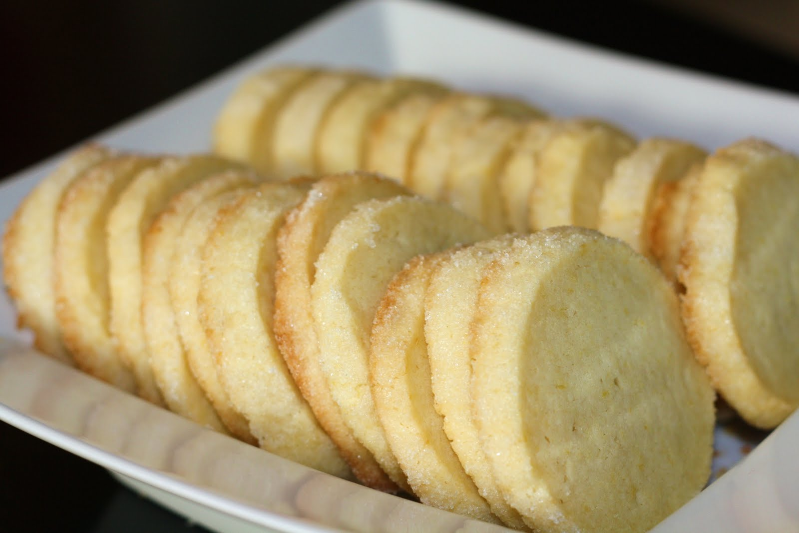 Sunday Sweets Lemon Icebox Cookies