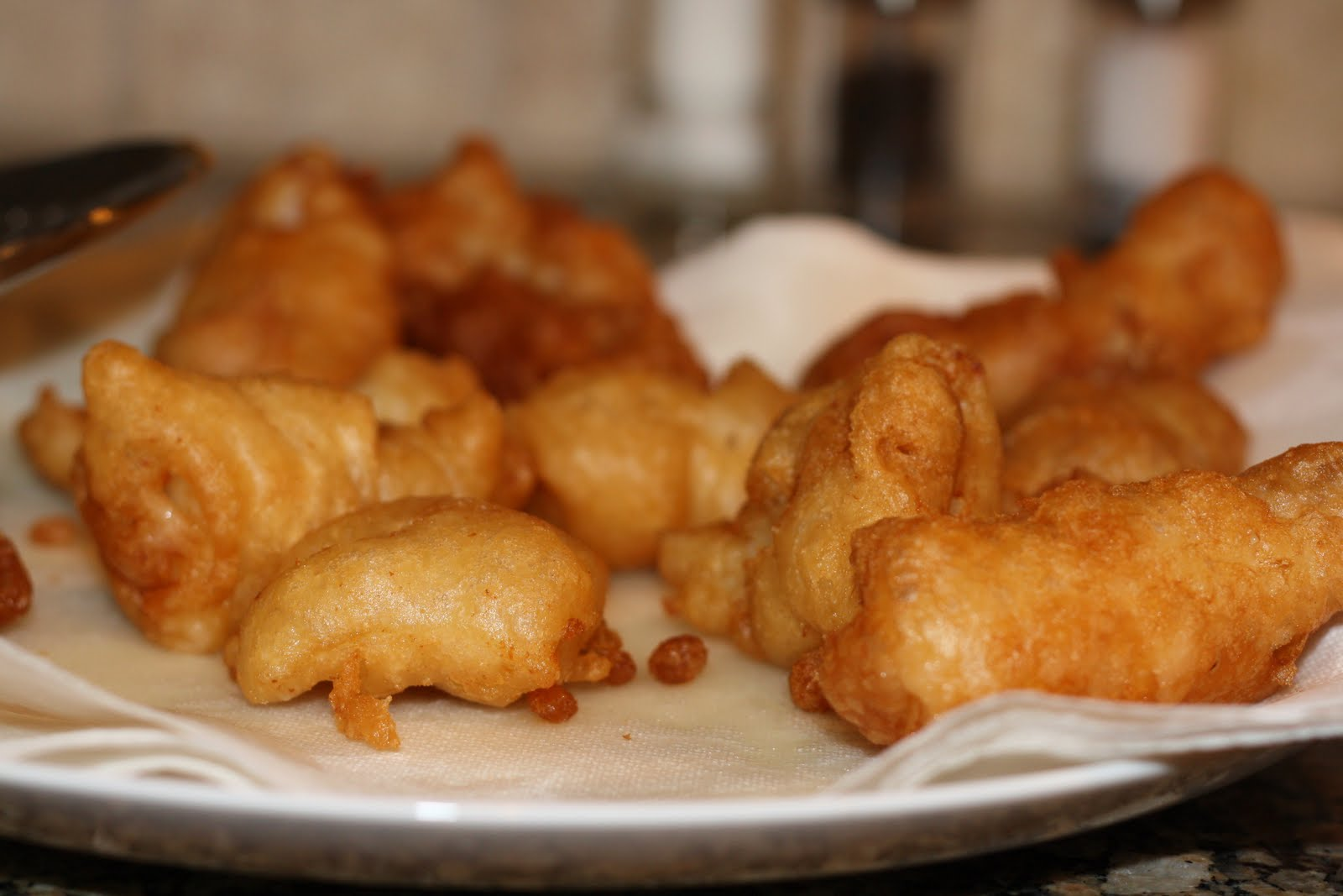 What 39 s for dinner fish and chips 50 minutes for Deep fried fish