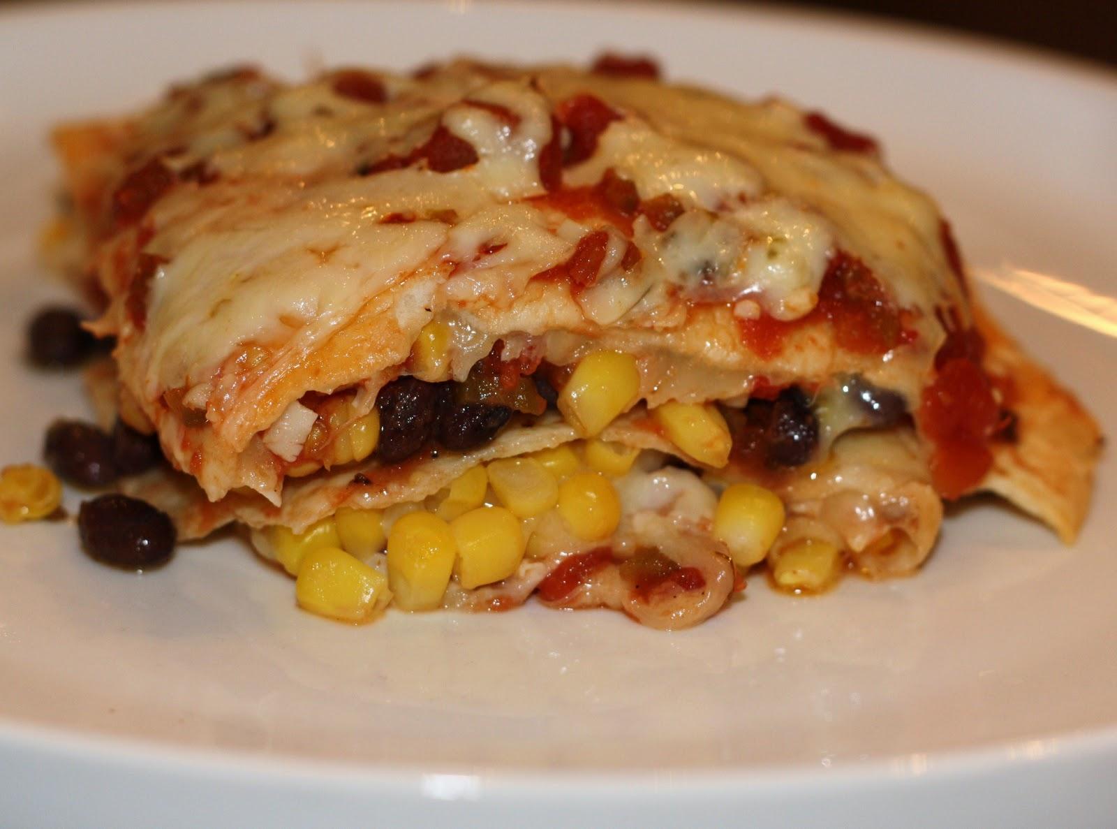 Mexican lasagna... 45 minutes