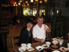 Excellent  Korean cusine at Insadong Chon