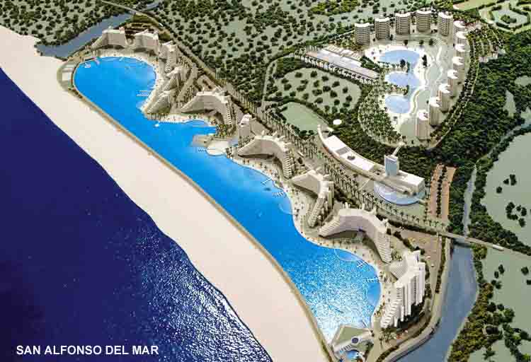 Post cards from the edge so you think you can do laps for San alfonso del mar swimming pool