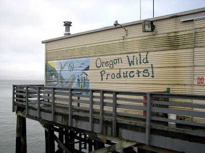Oregon Wild Products Mural, Pier 11, Astoria, Oregon
