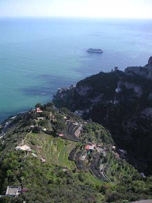 The View from Ravello, Italy