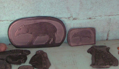 Slate Carvings in Belize