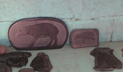 Slate Carvings in Belize