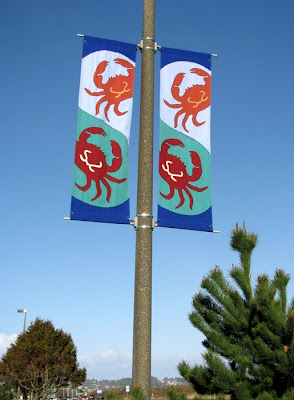 Dungeness Crab Banner in Warrenton