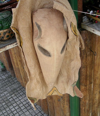 Possibly a Tapir Mask, Manaus, Brazil