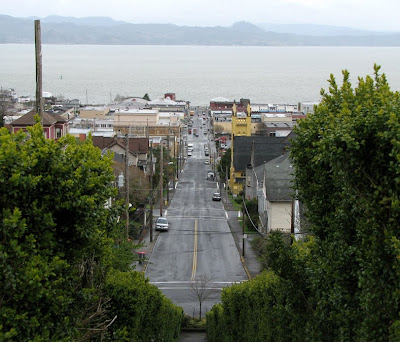 View from 11th and Jerome, Astoria, Oregon