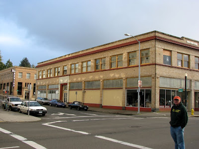 Osburn-O'Brien Building, 14th and Commercial, Astoria, Oregon