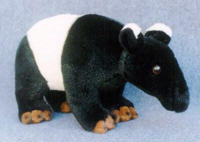 Stuffed tapir