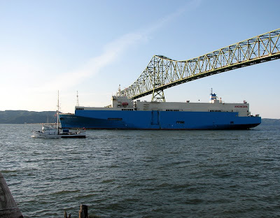 Vessels Under the Bridge, Astoria, Oregon