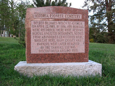 Astoria Pioneer Cemetery, Astoria, Oregon