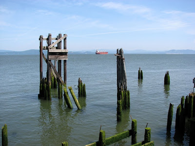 Remains of the Ferry Landing, Astoria, Oregon