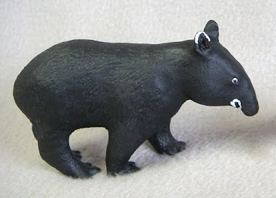 Mountain Tapir Replica or Figurine