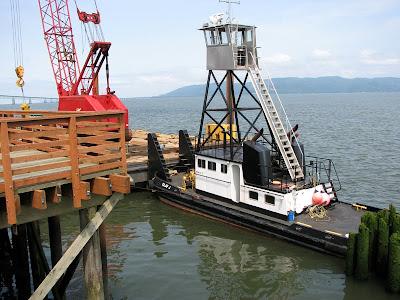 Push Tug Olaf J in Astoria, Oregon, on the Columbia River