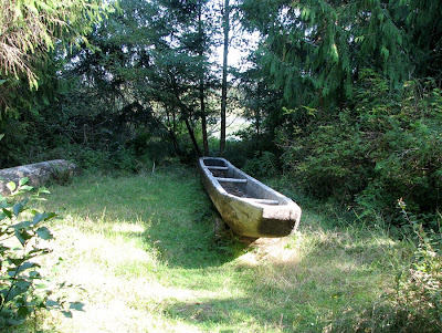 Chinook Indian Sweetwater Canoe