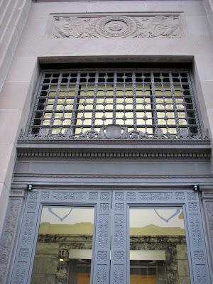 Post Office Doors, Astoria, Oregon