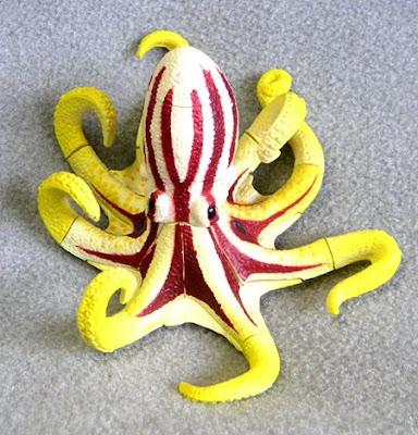 Octopus 3-D Plastic Puzzle