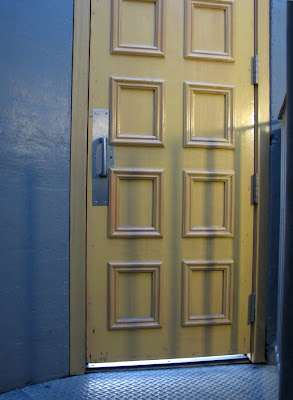 The door at the top of the stairway - Astoria Column