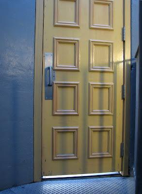 The door at the top of the stairway - Astoria Column