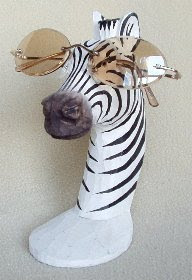 Zebra Peeper Keeper Eyeglass Holders