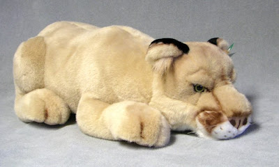 Stuffed Mountain Lion (Cougar, Puma)