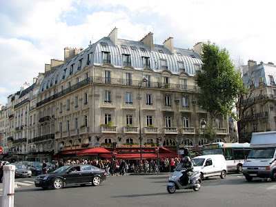 Place St-Michel, Paris